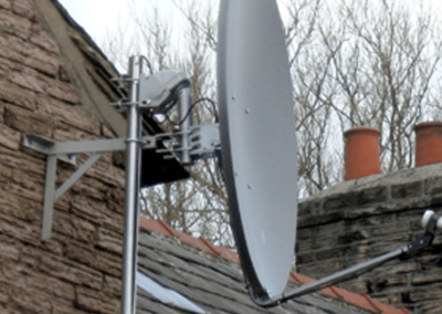 motorised-satellite-dish